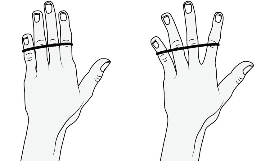 Parmakları Güçlendirme Egzersizi